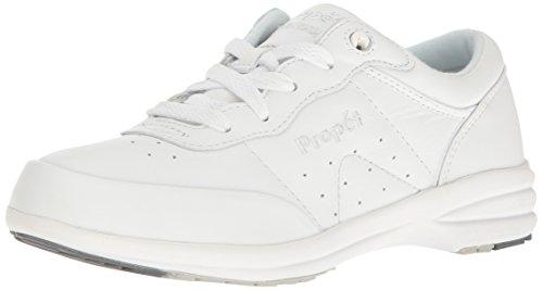 Propet Womens W3840 Washable Walker Sneaker,White,11 X (US Womens 11 EE)