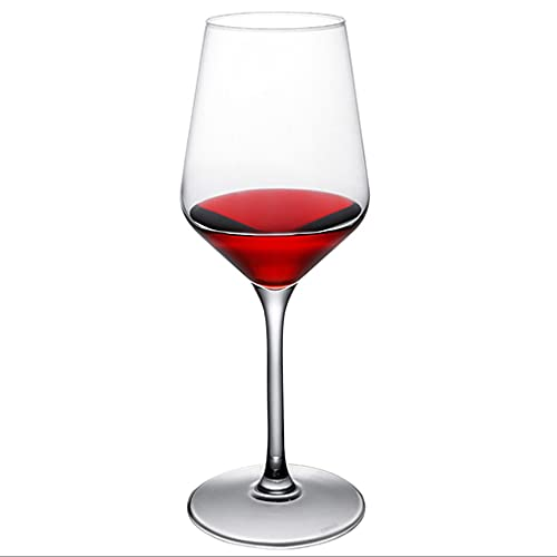 FEANG Wine Glasses Red Wine Glasses Set Of 6 | Beautifully Crafted Red Wine Glasses Made From Crystal Red Wine Glasses Of Wine Suitable for All Occasion Champagne Glasses