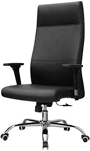 Support Cómodo silla de cuero High Back, silla de juego, silla de oficina, silla de escritorio Silla de computadora, silla de oficina Silla de computadora Silla giratoria simple, cómodo y h Respaldo c