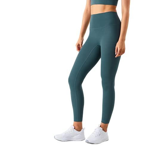 QTJY Leggings de Yoga de Longitud Completa para Mujer, Pantalones para Correr, Ajuste cómodo, Estiramiento, Pantalones de Yoga de Secado rápido, Pantalones de Fitness FM