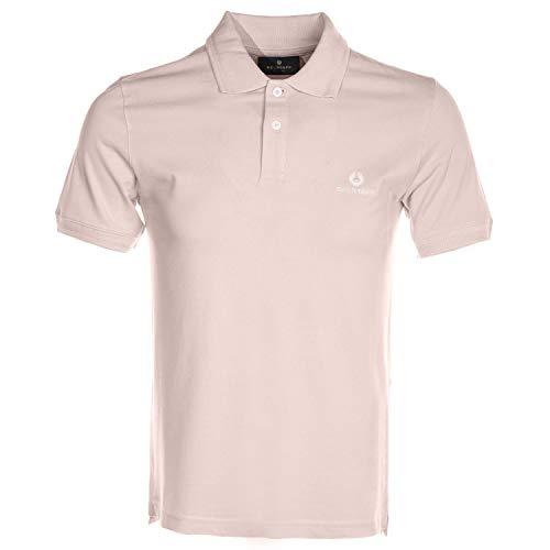 Belstaff Classic Short Sleeve Polo Shirt in Pink