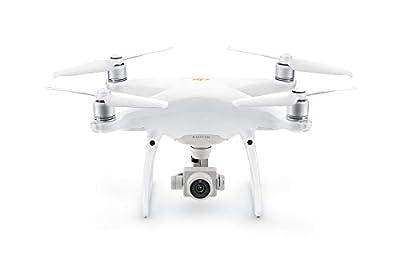 """DJI Phantom 4 Pro V2.0 - Drone Quadcopter UAV with 20MP Camera 1"""" CMOS Sensor 4K H.265 Video 3-Axis Gimbal White"""
