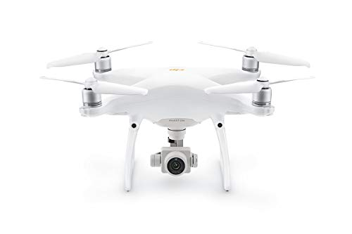 "DJI Phantom 4 Pro V2.0 - Drone Quadcopter UAV with 20MP Camera 1"" CMOS Sensor 4K H.265 Video 3-Axis Gimbal White"