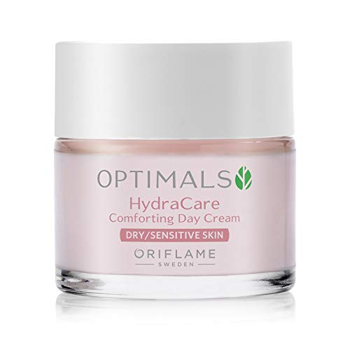 Oriflame Optimals Hydra Calm crema de día para pieles secas y sensibles, 50 ml