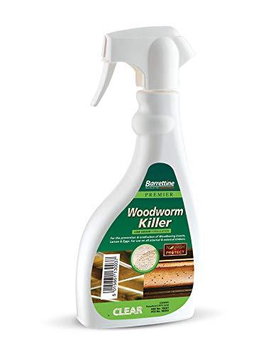Barrettine Woodworm Control Fluid Trigger Spray 500ml (low odour) (3)