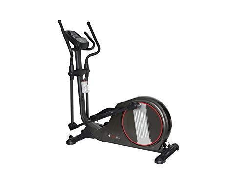 "Branx Fitness Magnetic 'X-Fit' Cross Trainer - 14.5 KG Flywheel - 19.5"" Stride Length - HRC - Bluetooth - None Slip Adjustable Pedals"