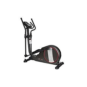 Branx Fitness Magnetic X-Fit Cross Trainer - None Slip Adjustable Pedals