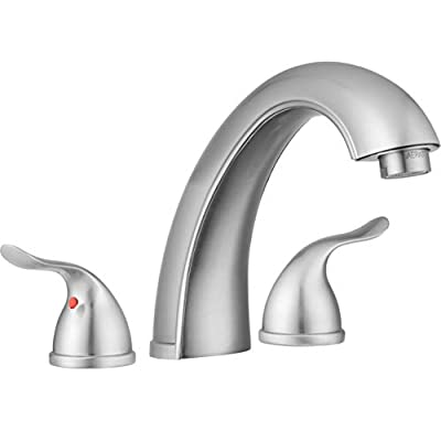 Pacific Bay Treviso Roman Tub Faucet (Brushed Satin Nickel Plated)