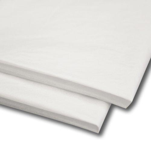 100 x Wit Tissuepapier, Geschenkverpakking, inpakpapier (20 x 30 inch)