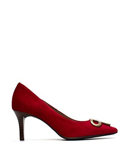 Zapatos de salón de Mujer de Pedro Miralles de Ante - Rojo,...