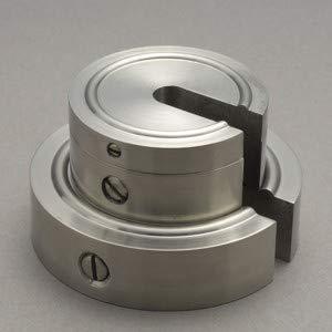新光電子(大正天びん) 増おもり型分銅 (非磁性ステンレス) F2級(1級) 1kg F2SS-1K