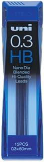 三菱鉛筆 ユニ ナノダイヤ シャープ替え芯 0.3mm HB 10個セット