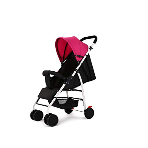 Carritos y sillas de Paseo Cochecito de bebé Ultra Ligero Portátil Puede...