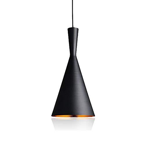 Xindaxin® Lámpara Nórdica Industrial Vintage Colgante de techo E27 Retro de Metal...