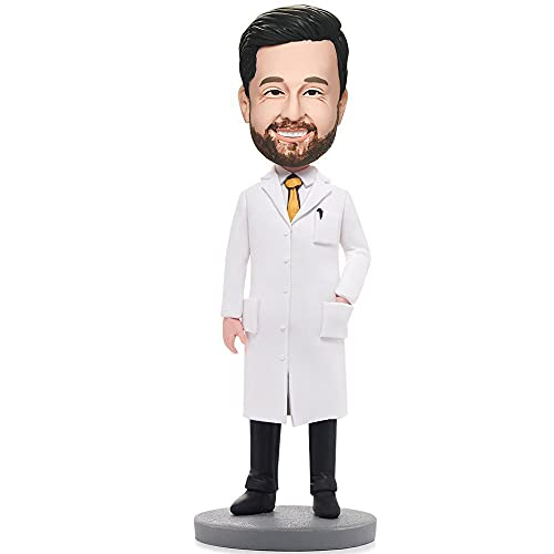 ZHIPAO 7' Custom Doctor Bobblehead Figurine, Nurse Bobblehead Personalized, Doctor Fully Custom...