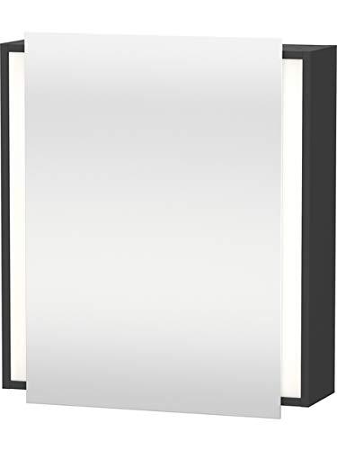 Duravit Spiegelschrank Ketho 180x650x750mm 1 Spiegeltür, graphit matt, KT7530L4949