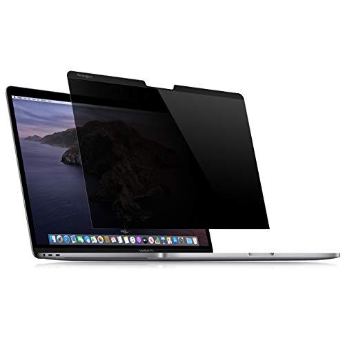 Kensington K64490WW Filtro Privacy per MacBook Pro 13 , Magnetico, Riduzione di Riflesso e Luce Blu, Visualizzazione Reversibile, Integrabile allo Schermo del MacBook, Conforme al GDPR