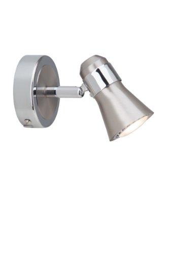 Brilliant G15410/77 Spot Patère LED Acier/Chrome GU10 5 W Métal Argent