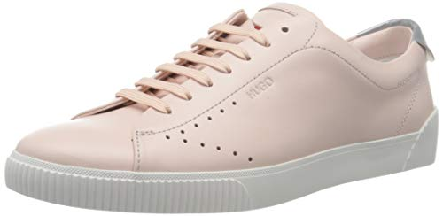 HUGO Damen Zero_Tenn_L Sneaker, Light/Pastel Pink681, 41 EU
