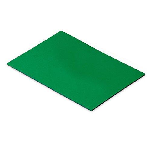 Faibo 655-04 - Pack de 10 láminas de goma Eva, 40 x 60 cm, color verde