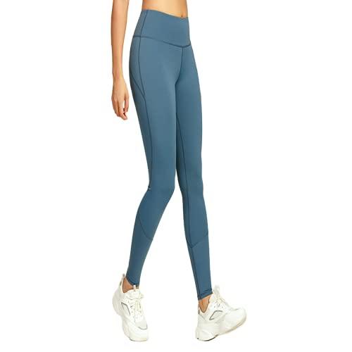 QTJY Pantalones de Yoga para Mujer, Deportes Suaves y Desnudos para Correr, Pantalones de Yoga Ajustados a la Cadera, Pantalones para Deportes al Aire Libre de Secado rápido, elásticos FS