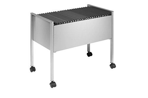Durable File Trolley - Soporte para archivadores, plateado 🔥