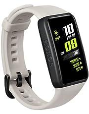 "HONOR Band 6, Model ARG-B39, 1.47"" AMOLED Display, Long Battery Life, 24/7 Heart Rate Monitoring, Sleep Tracking, International Version"