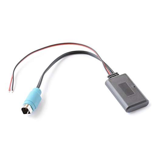 JENOR - Módulo adaptador Bluetooth para coche inalámbrico Radio estéreo AUX Cable...