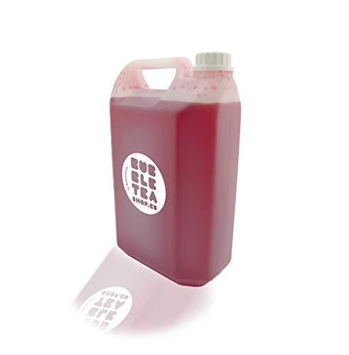 Fruitsiroop voor Bubble tea Aardbei   Fruit syrup Strawberry (1000 g)
