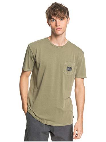 Quiksilver Sub Mission-T-Shirt avec Poche pour Homme, Kalamata, FR : M (Taille Fabricant : M)