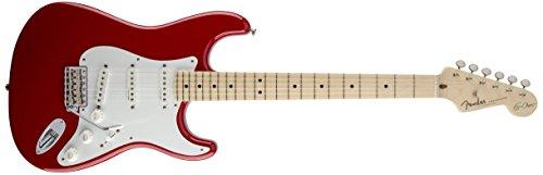 Fender Stratocaster 0117602805Eric Clapton tastiera in acero chitarra elettrica–Olympic white-p 4/4 Black