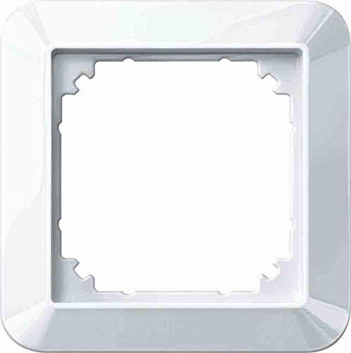 Merten 389119 Interruptor, Blanco Polar, 1x 1-M-Rahmen