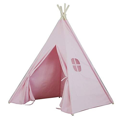 Tents Weiß/rosa Zelt, Baby-Raum Dekorative Zelt Baby-Spiel-Zelt Kinderleseecke/Geeignet for Kinder von Multiple Alter (Color : Pink, Size : 120 * 120 * 150CM)