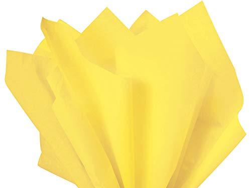 Yellow Tissue Paper
