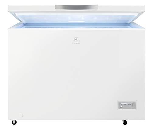 Electrolux LCB3LF31W0 Gefrierschrank, horizontal, Energieeffizienzklasse A+, Fassungsvermögen Netto 316 l, Weiß