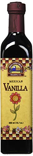 Blue Cattle Truck Trading Co. Traditional Gourmet Mexican Vanilla Extract, Large, 16.7 Ounce