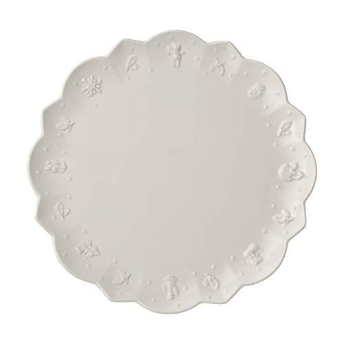 Villeroy und Boch Toy's Delight Royal Classic Speiseteller, 29,5 cm, Premium Porzellan, Weiß