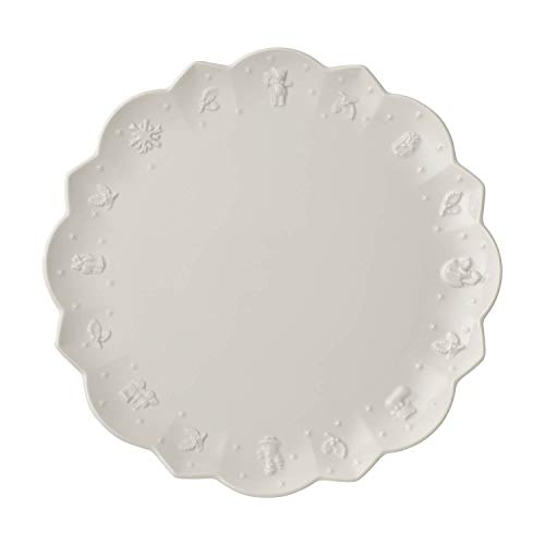 Villeroy & Boch Toy's Delight Royal Classic Speiseteller, 29,5 cm, Premium Porzellan, Weiß