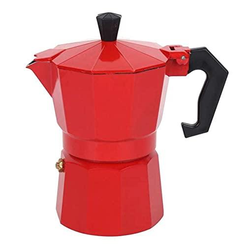 JWDS Cafetera Stovetop Coffeefeer Espresso Percolator Pot Maker Coffee Shop Office Para El Hogar Cofre Café Aislamiento Café Café Café