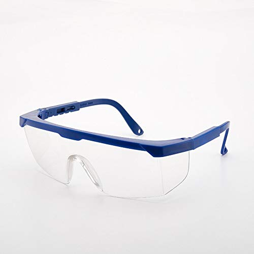 RoxTop Leichte Männer Frauen Stoß- Industriearbeitsschutzbrillen Anti-Laser-Infrarot-Schutzbrillen PC-Objektive Blau