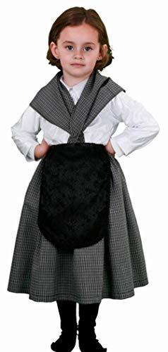Disfraz de castañera infantil - Talla - 10-12 años