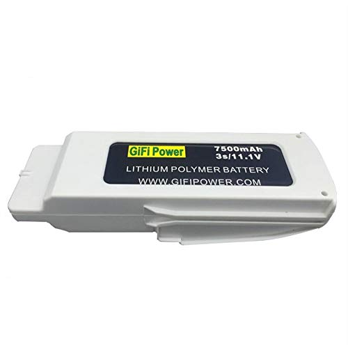 7500mAh Battery 11.1V Replacement LiPo Battery Batteries for Blade Chroma Drone
