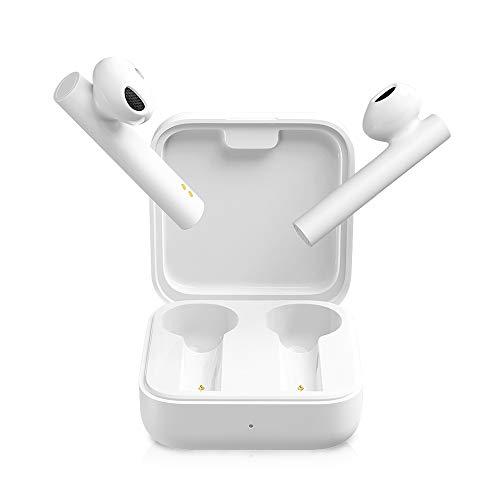 Xiaomi - Mi True Wireless Earphones 2 Basic, Auricolari wireless Bluetooth, controllo touch, Bluetooth 5.0, stereo, microfono dual, riduzione del rumore di chiamata, colore bianco