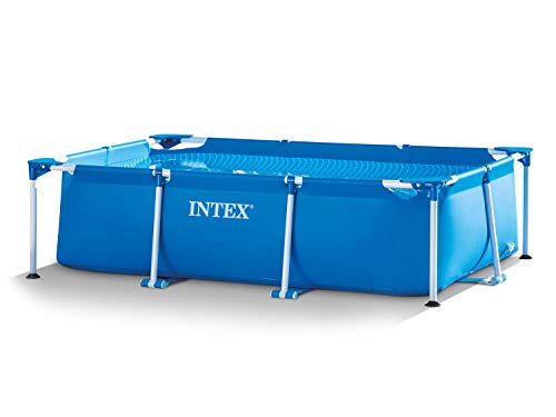 Intex Set per piscina da giardino 3 in 1, da 260 x 160 x 65 cm, con pompa filtro