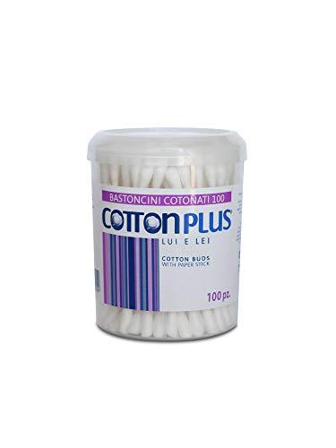 Cotton Plus BASTONCINI COTONATI 100 pz. - LINEA BEAUTY | COTTON FIOC | Igienici e delicati.