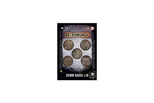 Necromunda+%3A+Socles+32+mm+%28x10%29