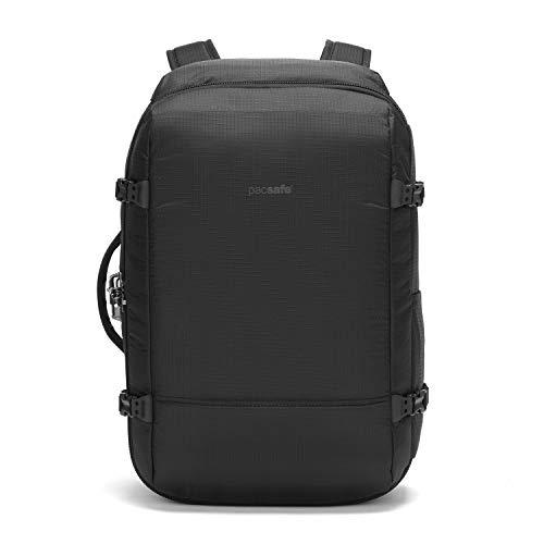 Pacsafe Unisex Vibe 40 Anti Theft Carry-on Jet Black Reiserucksack, Einheitsgröße