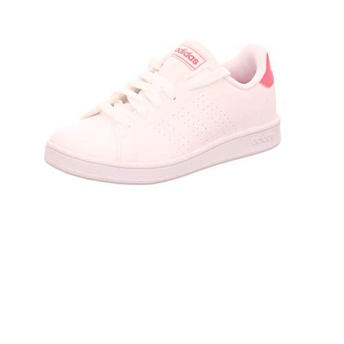 Adidas Advantage K, Zapatillas Mujer, Blanco, 36 2/3 EU