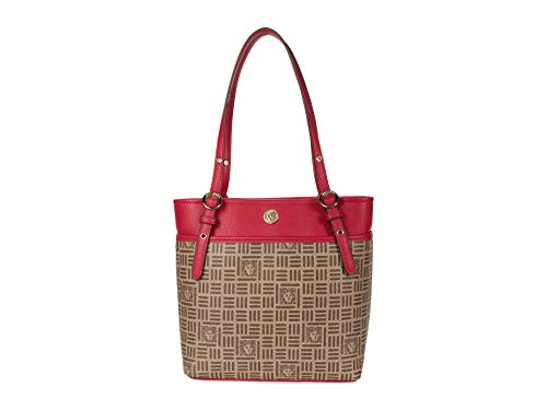 Anne Klein Pocket Tote Rose One Size