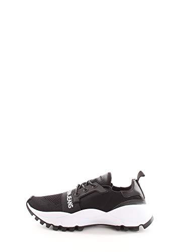 Calvin Klein, Timmy Black, Zapatillas Negras para Hombre, 43